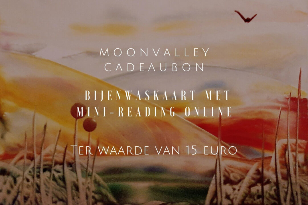Moonvalley Cadeaubon - Bijenwaskaart met mini reading